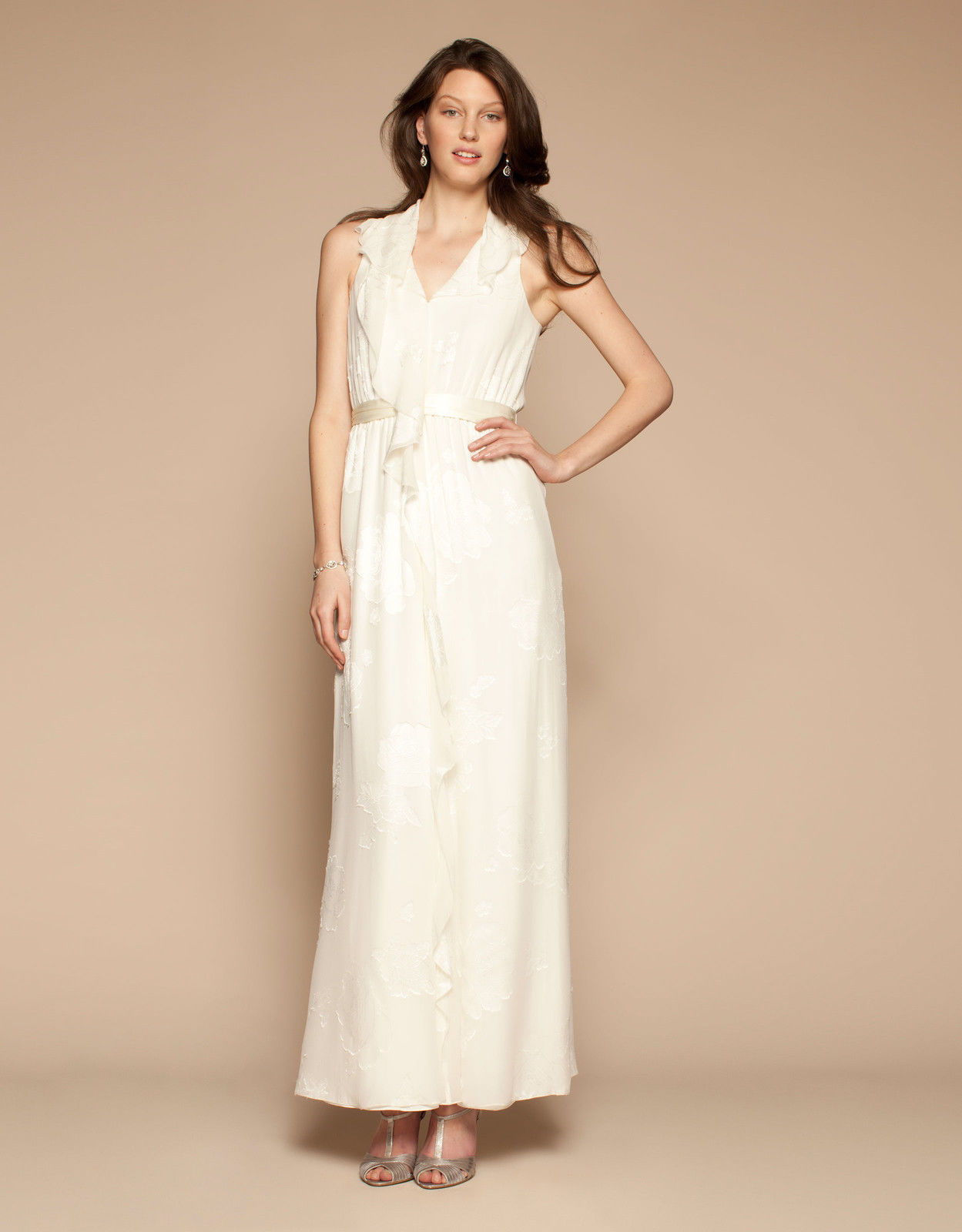NEW WITH TAGS Lovely Monsoon Kirkland Cream Jacquard Wedding Dress ...